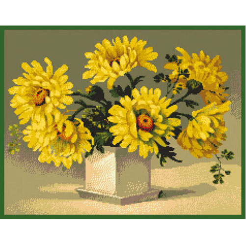 ДК-232, Желтые цветы, схема