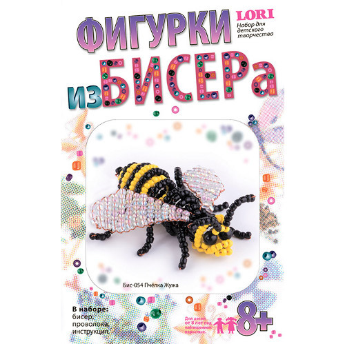 Фигурки из бисера 054 пчелка жужа